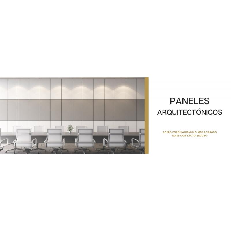 PANEL ARQUITECTÓNICO DE ACERO PORCELANIZADO